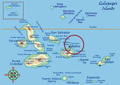Daphne Major Island, Galapagos