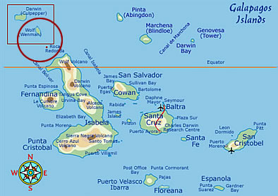 Darwin Island Galapagos - Facts, Maps & Information on