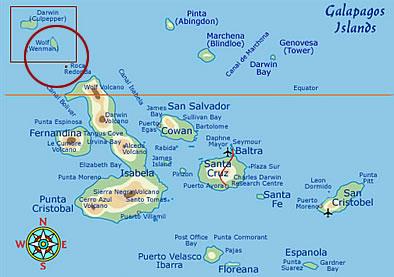 Darwin Island, Galapagos